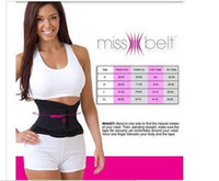 Free shipping Miss Belt Slimming Shaper Miss Waist Trainer B...