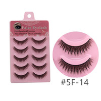 5 Pairs High Quality 3D False Eyelashes Handmade Natural Lon...