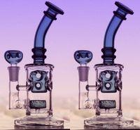 Hunter Green Glass Bongs Water Piques 14,4 мм Соединенное Совместное сопоставление Чаша Голова Главашкой Perc Рециркуляторы Нефтяные Установки Стекло Бонги Бесплатная Доставка Кальян