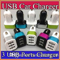 100X For iPhone 6s 7 Plus Car Charger Traver Adapter Car Plu...