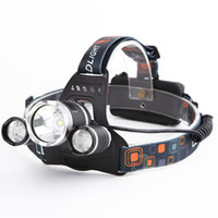 waterproof Headlight Led rechargeable 18650 headlamp 10000LM...