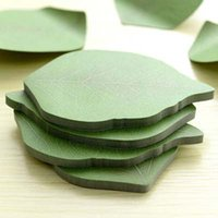 10 sets Cute Leaf Memo Pad Sticky Post Note Paper Sticker Pa...