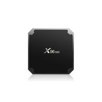 X96 Mini Android 7.1 TV Box 2GB16GB 1GB8GB AMLOGIC S905W رباعية النواة Suppot H.265 4K 30TPS 2.4GHz Wifi Media Player