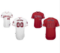 Personalized Men' s Los Angeles Angels Custom Jerseys Hi...