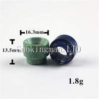 Turquoise drip tip Wide Bore AV kennedy 24 528 Drip Tip 510 ...