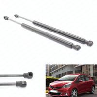 2pcs / set ajustes carro para Toyota Yaris 2007 Elevador 2008 2009 2010-2011 Hatchback Gas Suporta Struts Prop Rod Arm Shocks