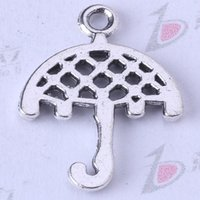 Braccialetti adatti dell'argento di DIY retro / bronzo dell'ombrello adatti o monili della lega di fascini della collana 400pcs / lot 3328