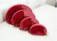 2020 heiße beste Qualität verkaufen neue Mode Leder 4 SETS Kosmetiketui Schminktäschchen WALLET CASE Geldbeutel-Beutel-Handtaschen-Mappen-Geldbeutel-Kosmetikbeutel