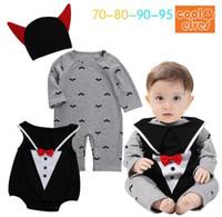 Hot Halloween Baby Macreiras Para Jumpsuit Infantil Recém-nascido Bebe Roupas Bonito Algodão Crianças Meninas Meninos Roupas