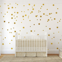 Kids Bedroom Beautiful Fluorescent Glow In The Dark Stars Wa...