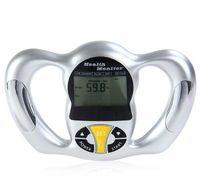 BZ-2009 Mini Dijital LCD Ekran Sağlık Analizörü El BMI Tester Vücut Yağ Monitör Yağ Ölçer Algılama Vücut Kitle İndeksi