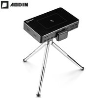 Wholesale- AODIN M9 1+ 32G Pico mini Projector hd Smart Multi...