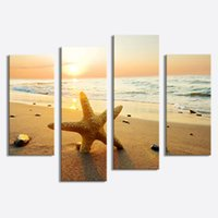 4 Picture Combination Picture Sensations no Framed Huge Summ...