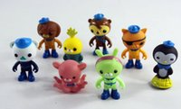 8 pz / set The Octonauts Action Figure Giocattoli Super Bello Capitan Barnacles Medic Peso Figure Model Toy For Kid