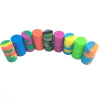 2017 Wholesale Round Non- Stick Silicone Herb Stash Jar- Mini ...