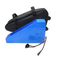الجمارك الحرة 60 فولت 30AH بطارية الدراجة الكهربائية 60 فولت 30AH بطارية ليثيوم مثلث مع حقيبة استخدام NCR18650GA 3500 مللي أمبير خلية 50a bms