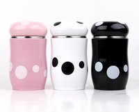 Cartoon student baby mushroom insulation cup female portable...