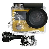 الأصلي eken H8R الترا hd 4 كيلو 30fps فيديو الرياضة عمل الكاميرا التحكم عن المزدوج شاشة 360 vr للماء الرياضة كاميرا 1080 مللي أمبير بطارية