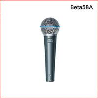 Yüksek Kaliteli Beta58A Sürüm Vokal Karaoke Mikrofon Dinamik Kablolu El Mikrofon Ücretsiz Kargo