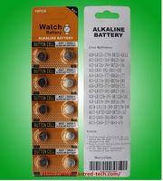 400 blister 1.5v AG7 LR927 195 395A batterie per pile a bottone