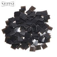 NEITSI Hohe Qualität Keratinkleber Keratin Fusion Flache Fusionspäne Kleber Nagelspitze Keratin Nagelspitze Für Haarverlängerung 500pcs / lot