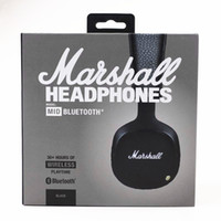 2017 Marshall MID Bluetooth Headphones With Mic Deep Bass DJ...