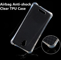 Limpar transparente anti-batida fina airbag silicone case pequena cintura air float protetor capa para iphone 6s samsung galaxy s7 s6 s5