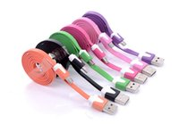 LONG  short NOODLE MICRO USB CHARGER CABLE FOR SAMSUNG GALAX...