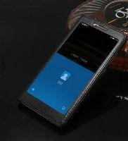 Classique Pour Letv Le Max 2 X820 Flip Coloré Luxe Ultra-Mince Couverture Etui En Cuir Véritable Pour Letv Le Max 2 X820