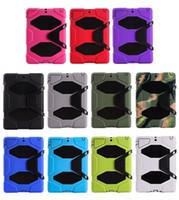 Обложка робота для iPad Mini 6 Air 9.7inch Tablet Weal Extreme Heavy Duty Компьтер-книжка Ударосопрочный Чехол с Аккустическим чехол с повседневной крышкой
