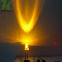 La luce rotonda gialla della radura del LED dell'acqua libera 1000pcs 3mm ha condotto i diodi Trasporto libero
