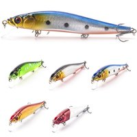 Lifelike 3D Eyes 14CM 23G Плавающая рыбалка Minnow Lure Пластмассовый воблер Hard Bait Pesca Carp Bait Swimbait Crankbait 5Pcs / Lot