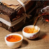 Yüksek Kalite Puer Siyah Çay Yapımı eski puer çay, ansestor antika, tatlı bal 250g, pu er çay Pişmiş in1970
