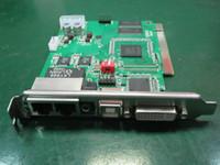 Linsn TS802D Kartka wysyłająca, pełny kolorowy wyświetlacz wideo LED Linsn TS802D LED Control CardComputer Card Synchroniczna Karta Sterowniowa HD