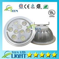 DHL High Power Led Lampe 21W 27W Dimmbar AR111 E27 G53 GU10 LED Glühbirne Scheinwerfer AC 85-265V Led Downlights 50