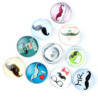 18 mm button Foreign trade The explosion Personality Fashion...