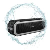 Andoer 10W sans fil Bluetooth 4.0 Haut-parleur stéréo extérieur Portable Soundbox Étanche Speakerphone Aux Voyage Riding à vélo