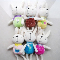 Gros-6Colors For Choice Size10cm-30cm Metoo Peluche poupées en peluche poupée Porte-clés Pendentif TOY; Bouquet DOLL Wedding Gift TOY