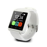 WYJ HEIßER Verkauf U8 Smart Watch Bluetooth Armbanduhren Höhenmesser Smartwatch für Android und für iOS-Handys Smartphones