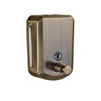 Wandmontage Antiek Brons 800 ml Vloeibare Hand Zeep Dispenser Rvs Badkamer Accessoires Pomp Sanitizer Keuken