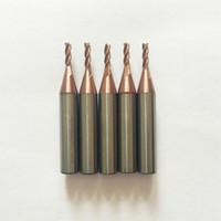 2.0mm hartmetall-schaftfräser für Wunder A5 / A7 / A9 / SEC-E9 schlüsselfräsmaschinen (10 teile / los)
