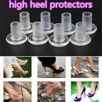 Protezioni tacco alto 2 colori Tacco a spillo Ballerina Tacco alto Tappi antiscivolo Protezioni silicone per matrimonio e feste acc280
