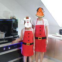 패션 크리스마스 요리사 앞치마, 완벽한 안주인 선물 스타킹 스터 부인 클로스 주방, 베이킹 크래프팅 앞치마 휴일와 장식