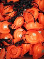 Maskot kostüm kafa için yüksek kaliteli fan blower soğutma fabrika doğrudan ücretsiz gemi için şişme elbise