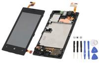 Nokia Lumia N520 520 LCD Ekran + Dokunmatik Ekran Digitizer meclisi ile 100 adet Orijinal yeni Ücretsiz nakliye