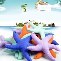 FDA Lfgb утвержден BPA free Food Grade силиконовые Baby Starfish прорезыватель младенческой малыша жевать прорезывания зубов обучение игрушки