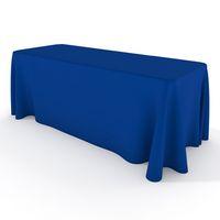 8 'Custom Print Trade Show Gonne da tavolo Open Back Tovaglie stampate personalizzate, copertura da tavolo con spedizione gratuita