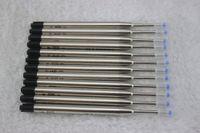 Wholesale-20 Pcs / Lot، (Black) BALLPOINT Pen Refill For MONTE، New Pen Pen Designs / Wholesale Wholesale