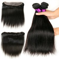 Ear to Ear Lace Frontal Closure With Bundles 4pcs lot Hot Be...