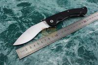 Soğuk çelik büyük RAJAH 9cr18mov Blade G10 kolu Katlanır bıçak Kamp Avcılık taktik survival maket bıçağı EDC aracı naylon kılıf ile